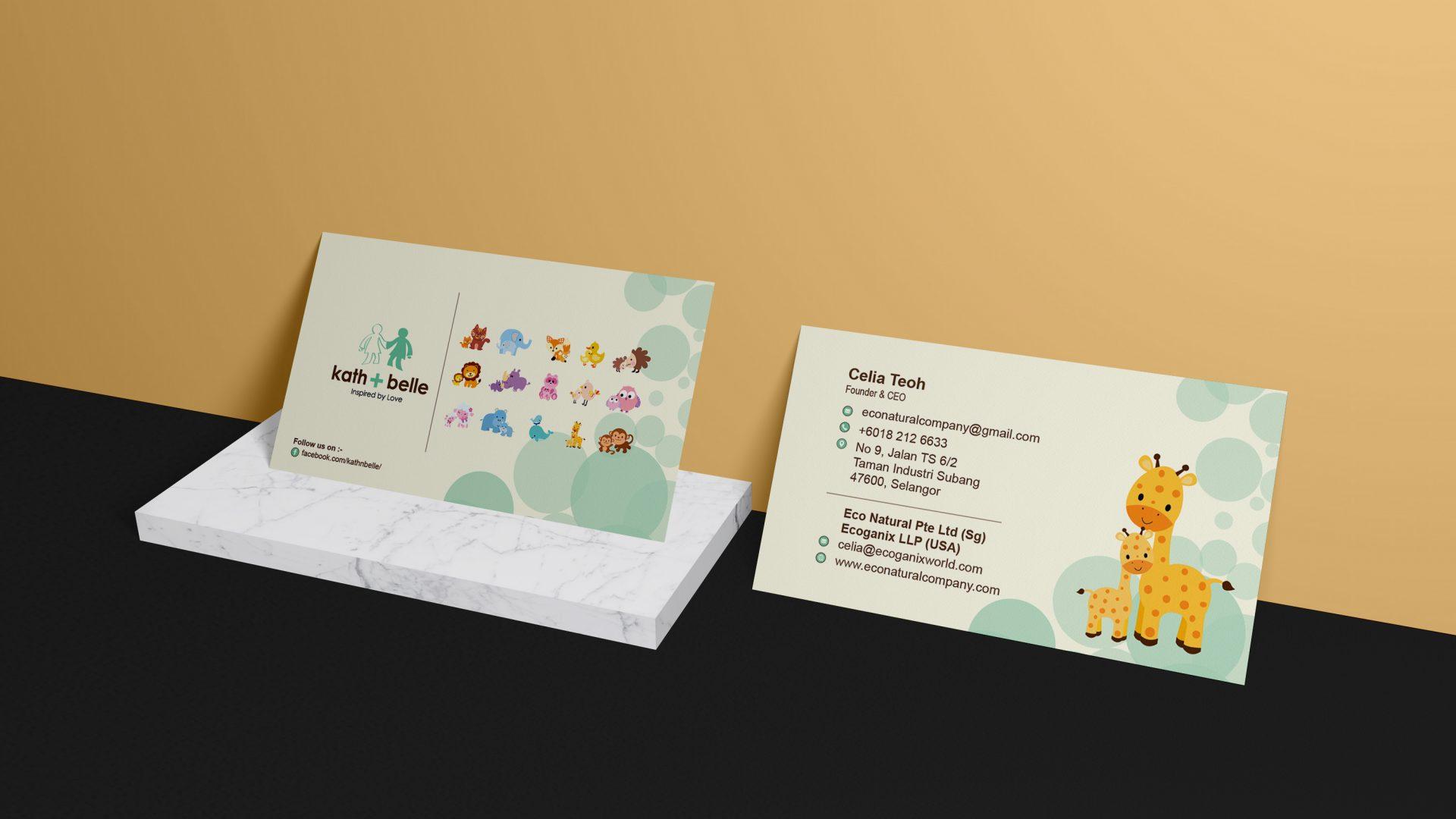 kath+belle-business-card