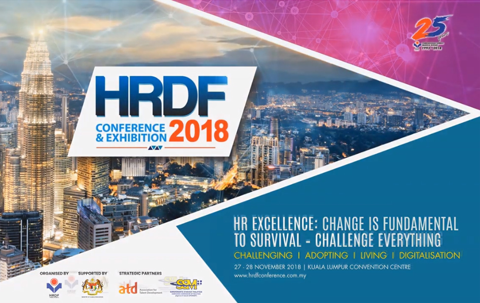 HRDF Conference Exhibition 2018 Opening Montage